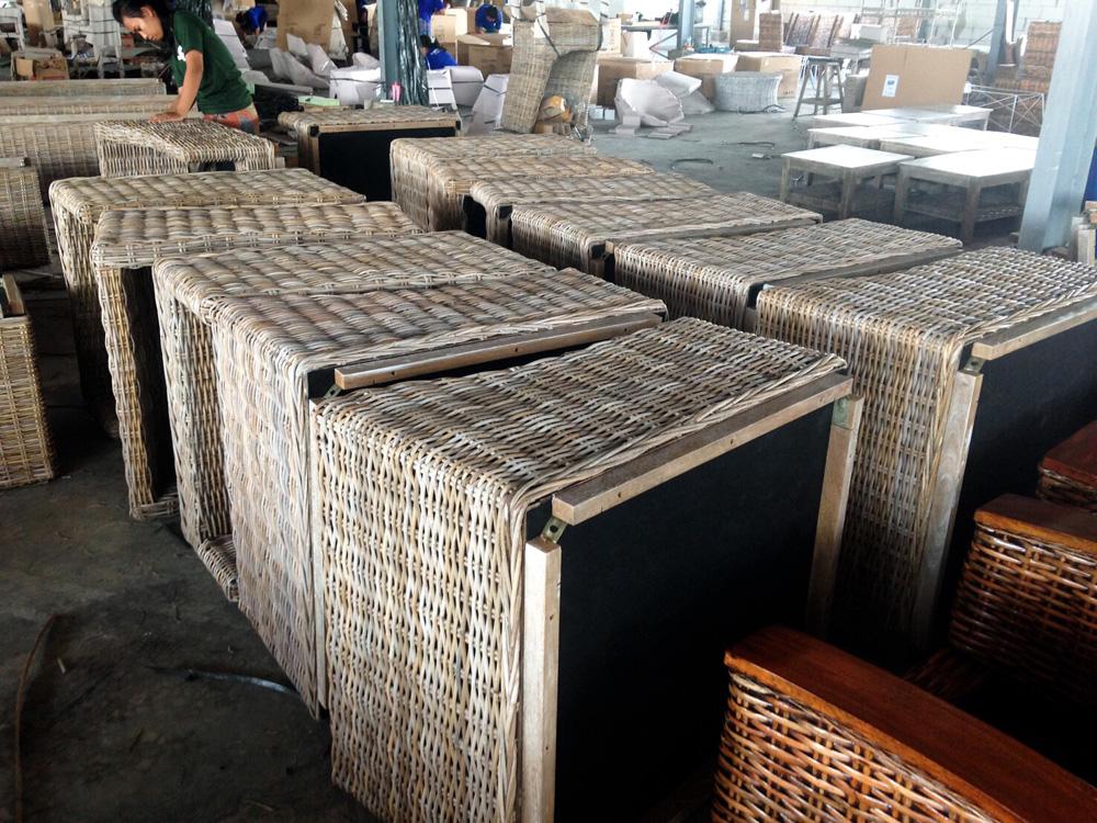 アジアン家具インドネシア工場