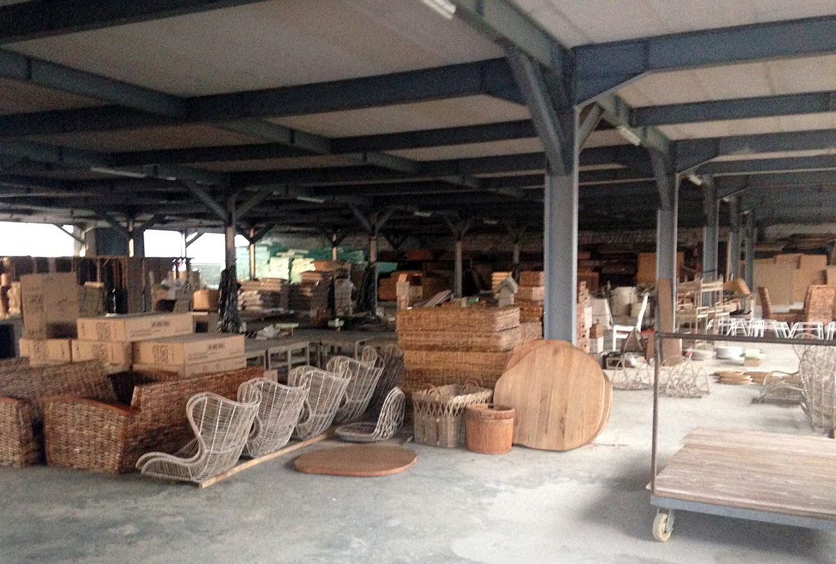 アジアン家具インドネシア家具工場