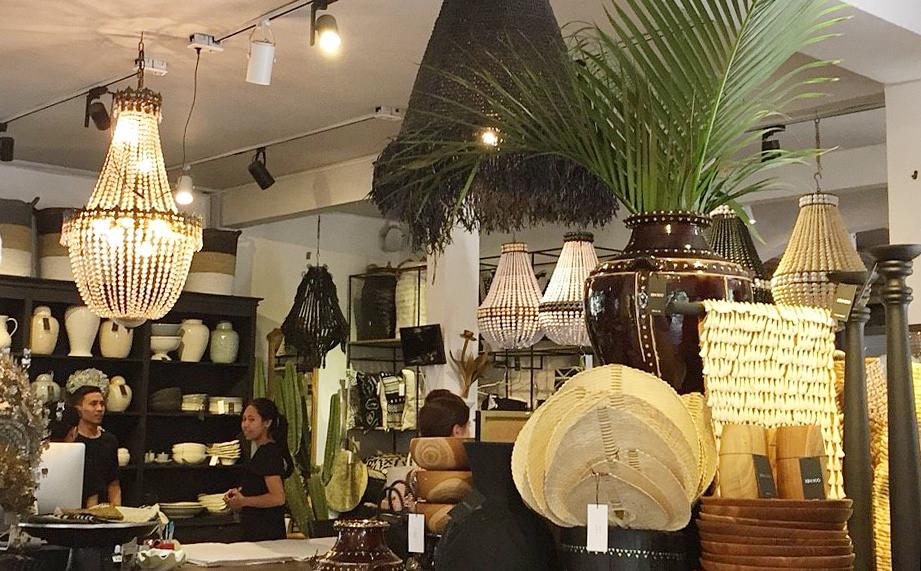 アジアン家具KAJA買い付け照明