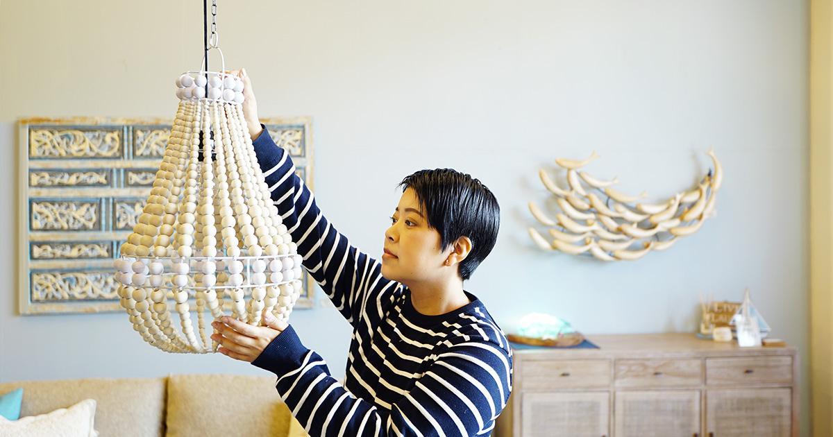 アジアン家具KAJAバイヤーのコーディネート紹介