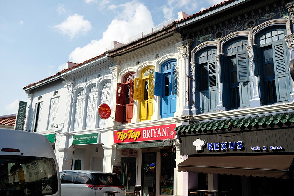 アジアン家具KAJAシンガポールのインディアタウン