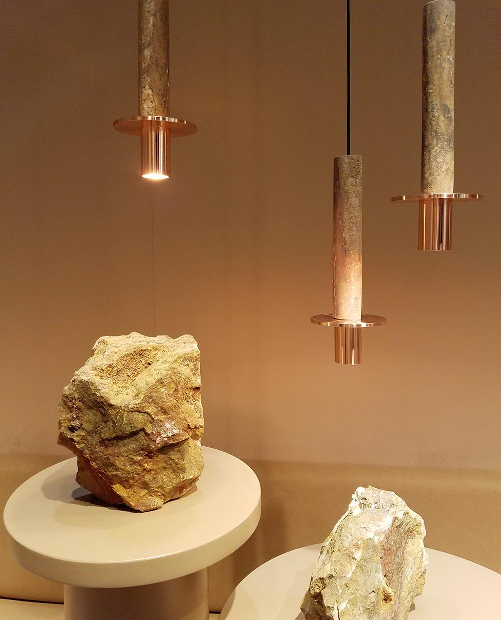 アジアン家具KAJA石の照明