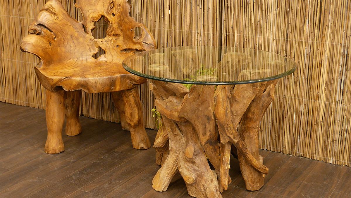 アジアン家具KAJA古木を使った家具