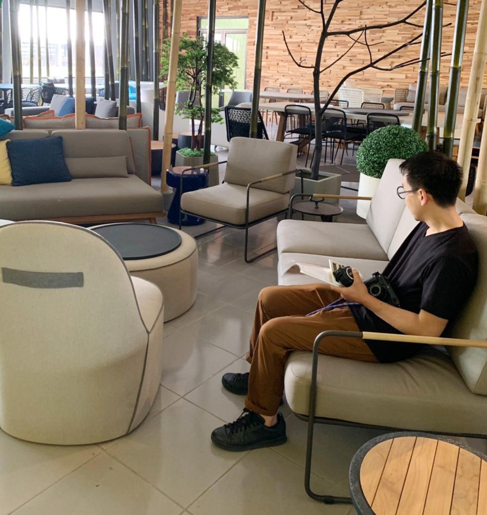 アジアン家具KAJAバイヤー家具の視察