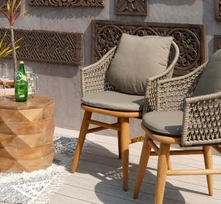 アジアン家具FARGOサバンチェア使用イメージ