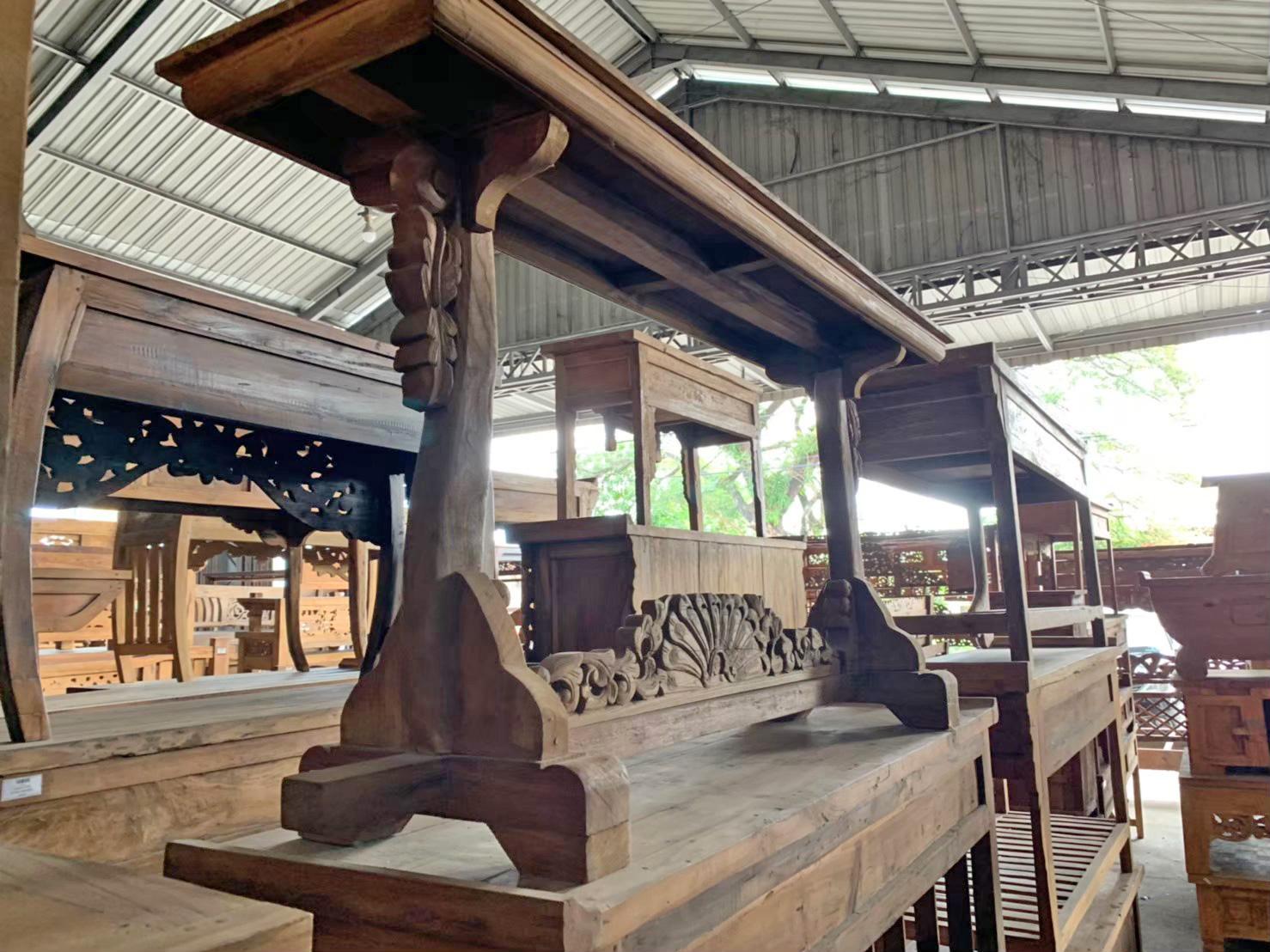アジアン家具KAJAインドネシア家具倉庫2