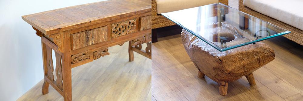 アジアン家具KAJAナチュラルスタイルの家具