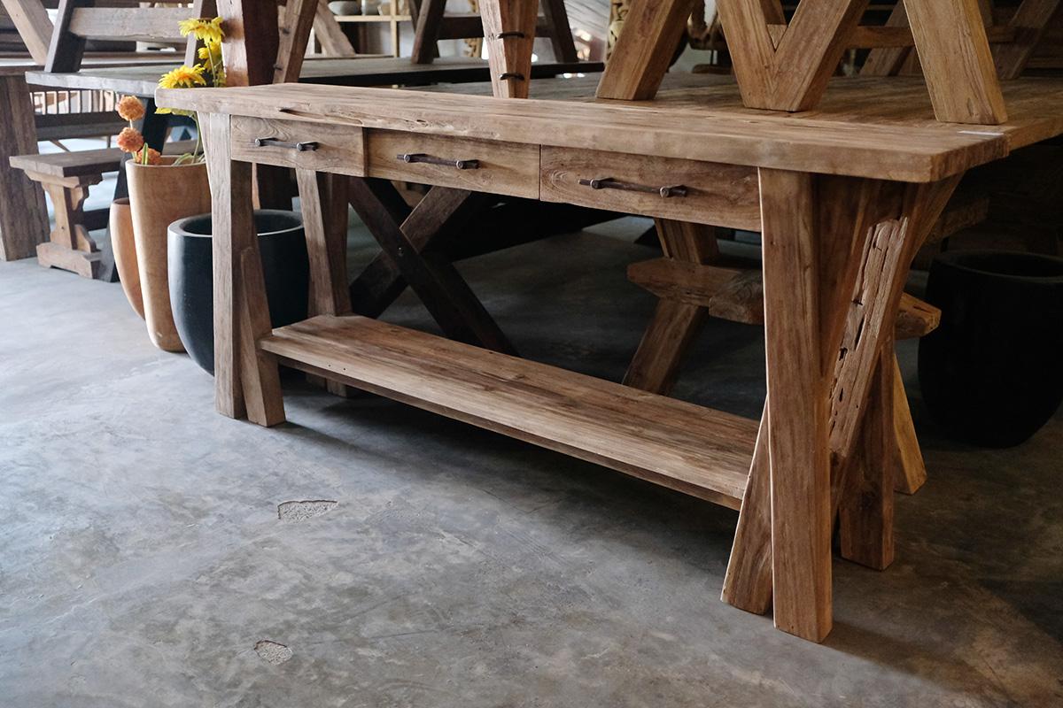 アジアン家具インドネシアのコンソールテーブル