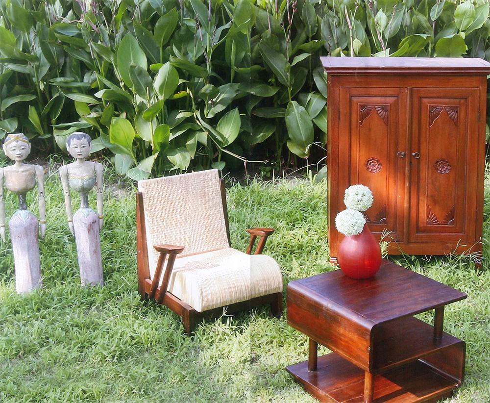 アジアン家具KAJA創業時の商品