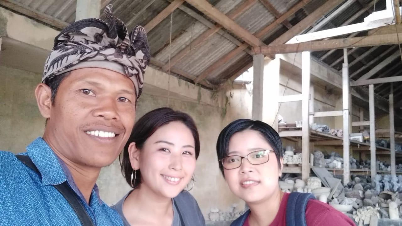 アジアン家具KAJAバイヤーとバリ島のショップオーナー
