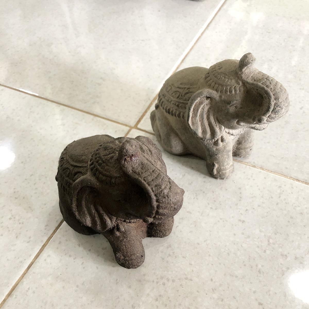 アジアン家具KAJA象のオブジェ