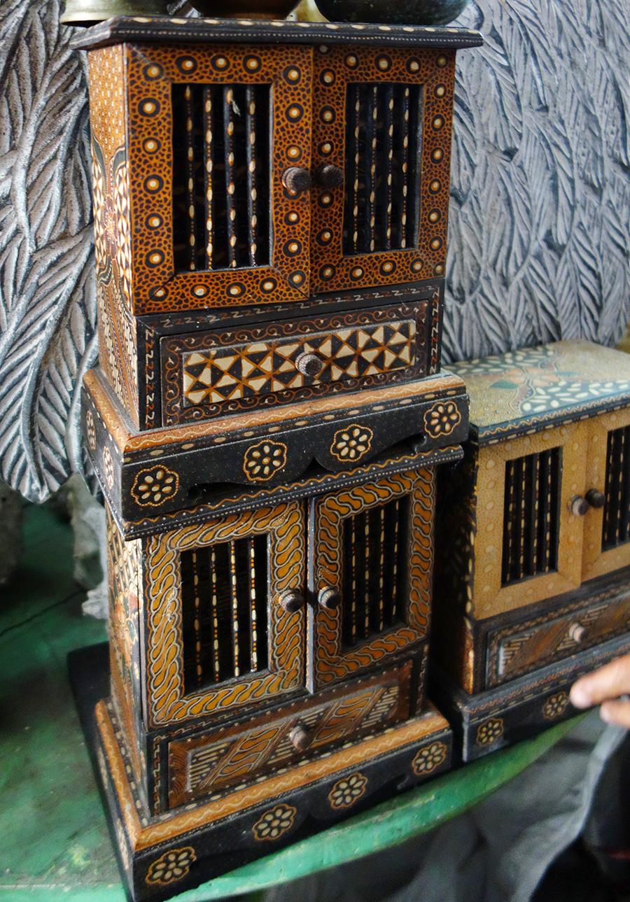 アジアン家具KAJA買い付けたウッドボックス