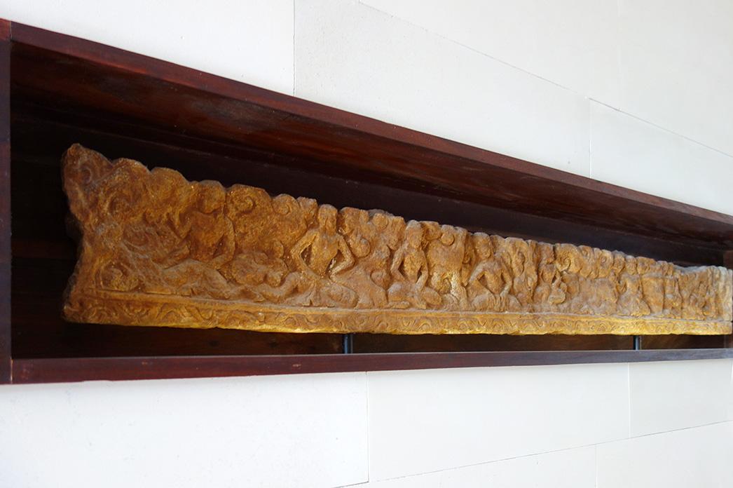 アジアン家具KAJAホテルのディスプレイレリーフ参考