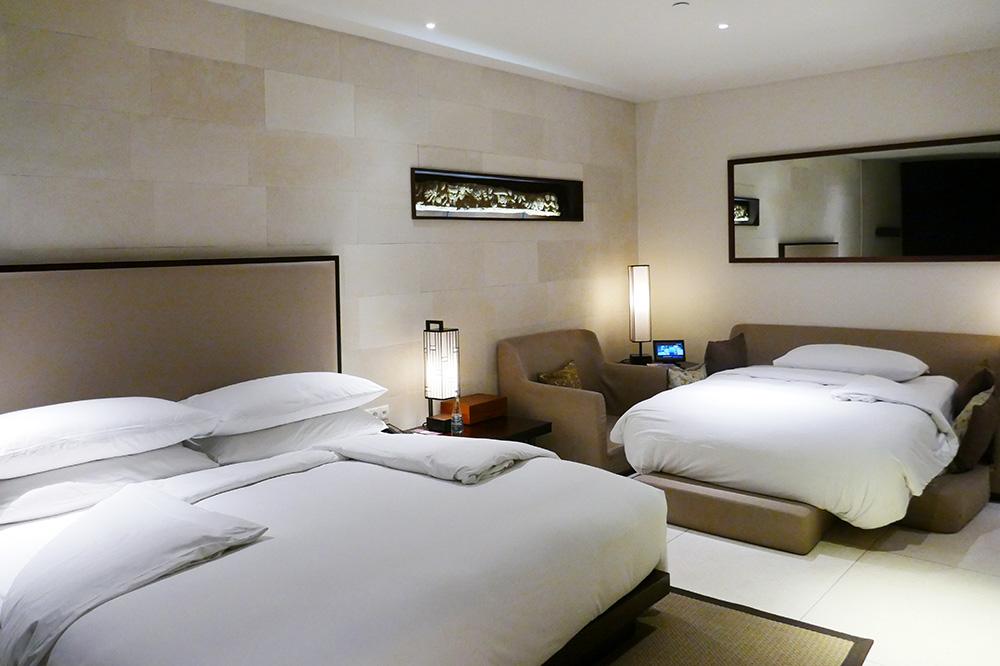 アジアン家具KAJAホテルのお部屋