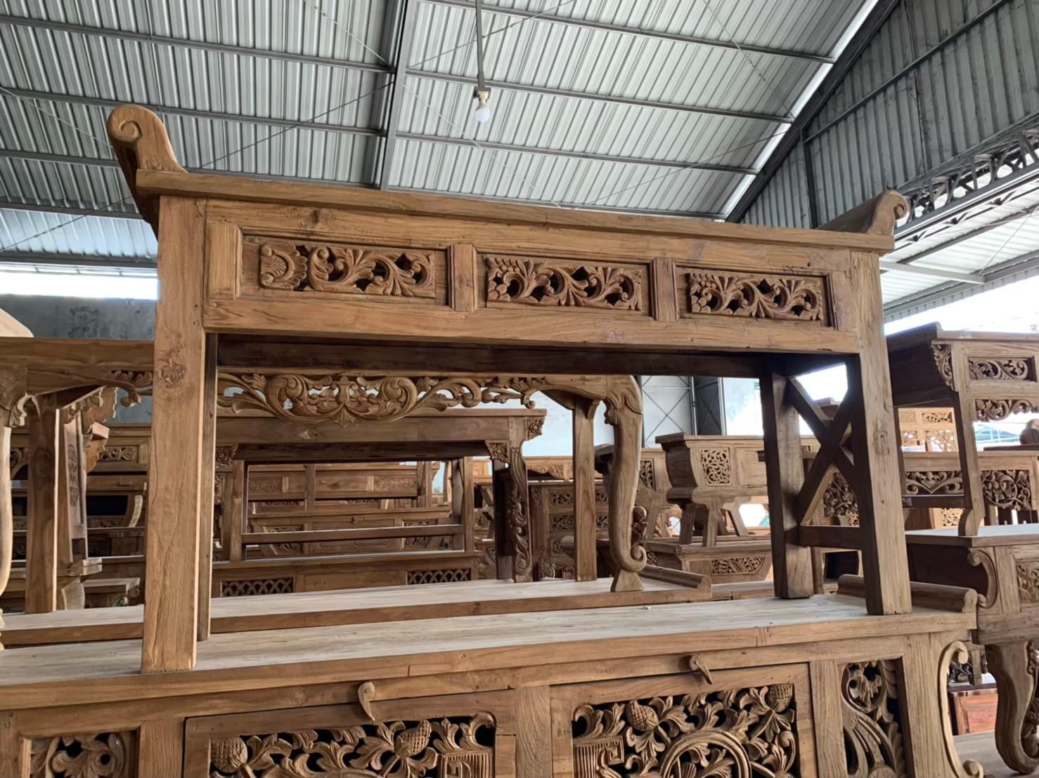 アジアン家具古材の買い付け工房