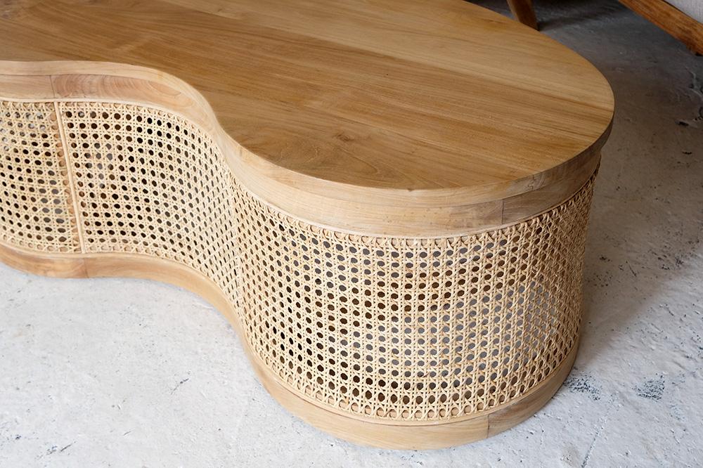 アジアン家具KAJAロテビーンズテーブル1