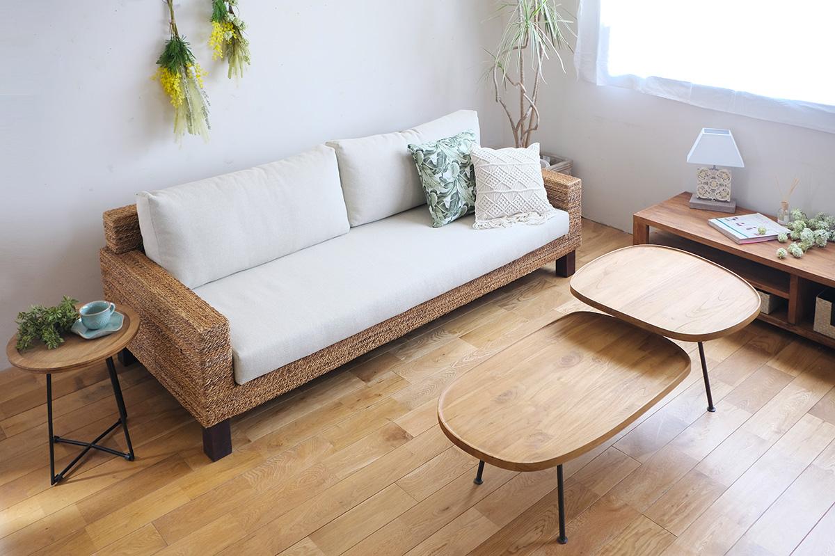 アジアン家具KAJAの定番人気オミソファ