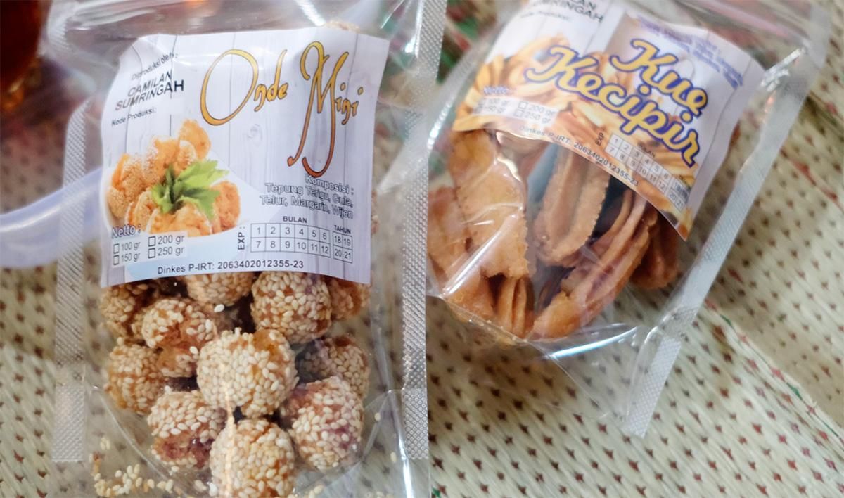 アジアン家具KAJAイブイブのお菓子