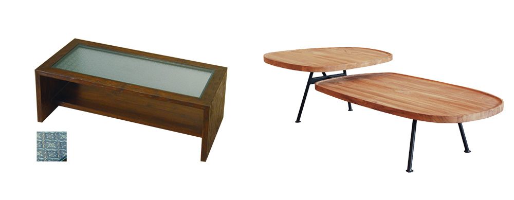 アジアン家具KAJAアウトレットローテーブル