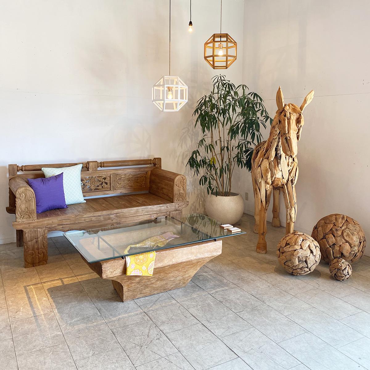 アジアン家具KAJA調布店の一点もの家具