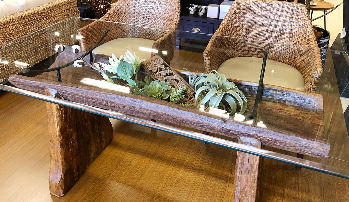 古木のダイニングKAJAアジアン家具