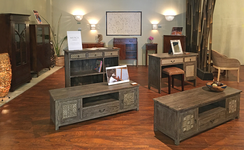 MUSCAシリーズのニューカラー家具