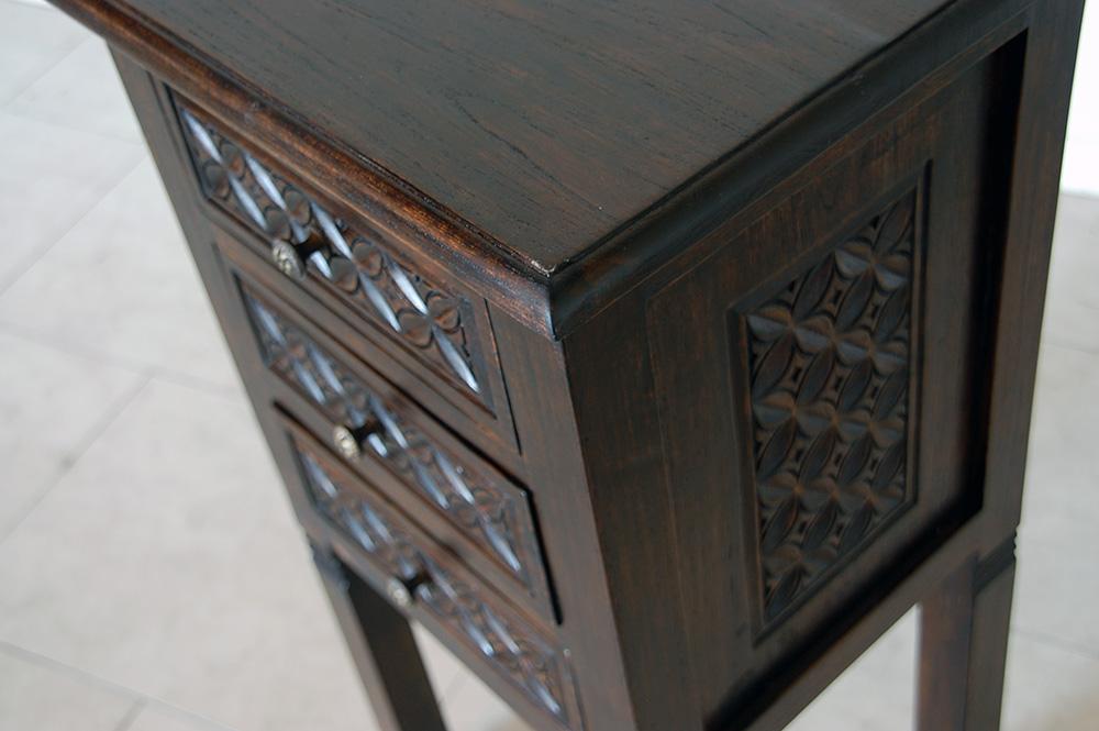 アジアン家具KAJAレリーフの家具のUP