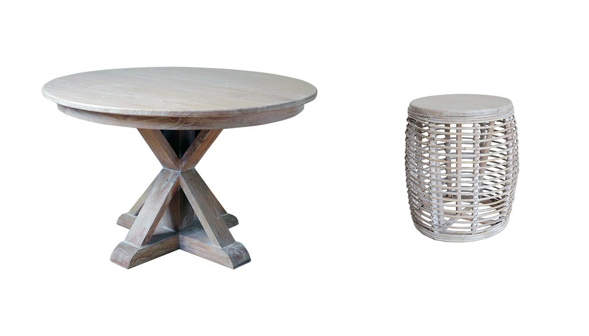 アジアン家具KAJAラメールシリーズの家具