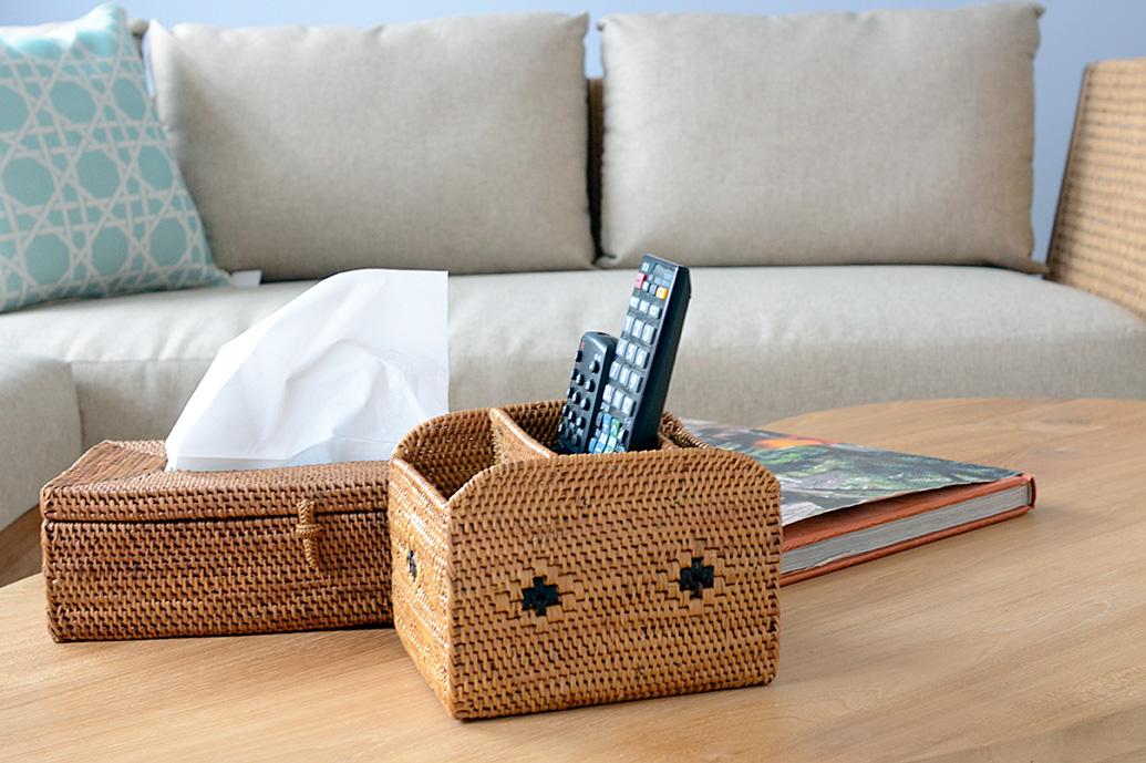 アジアン家具KAJAバリ島アタのマルチボックス