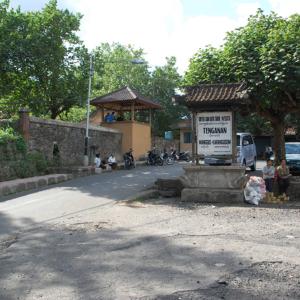 アジアン家具KAJAトゥンガナン村の様子