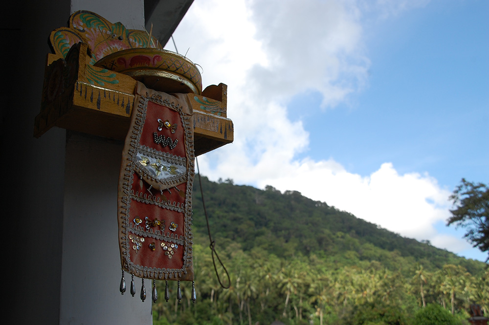 アジアン家具KAJAトゥンガナン村の風景