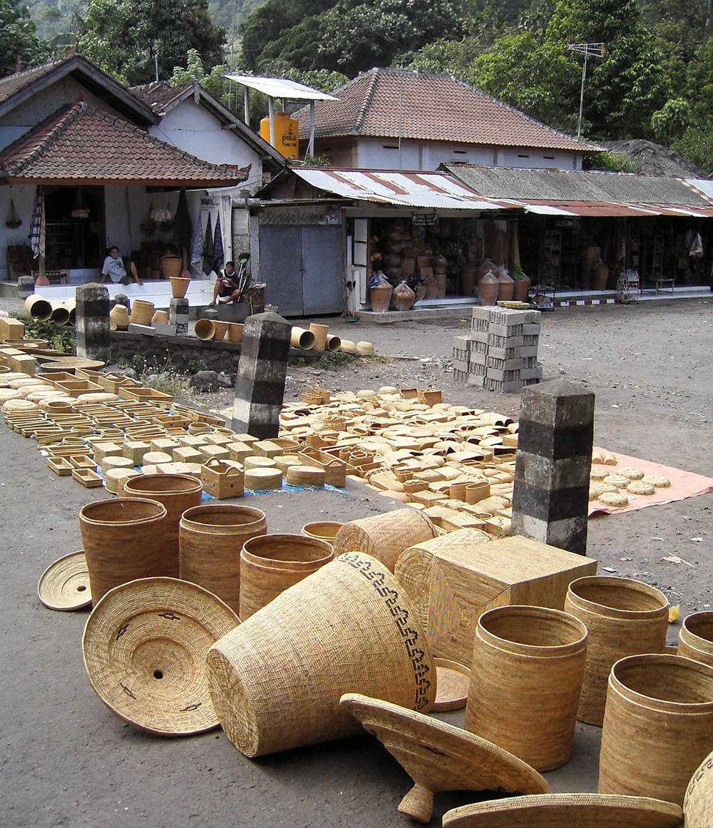 アジアン家具KAJAアタの乾燥
