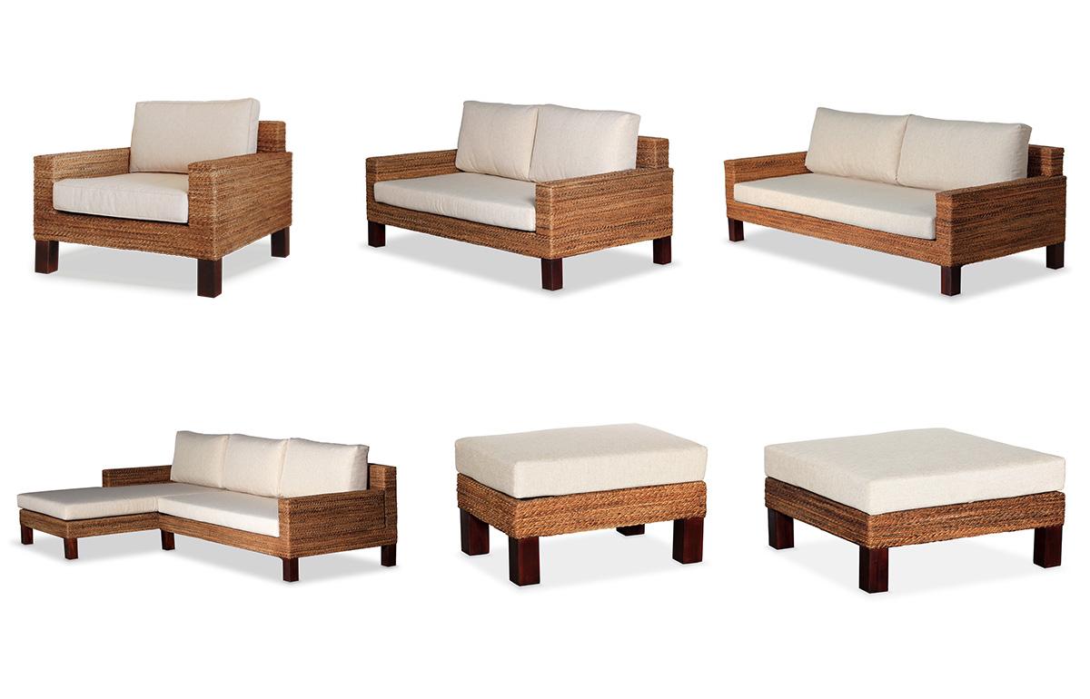 アジアン家具KAJAの定番ソファ