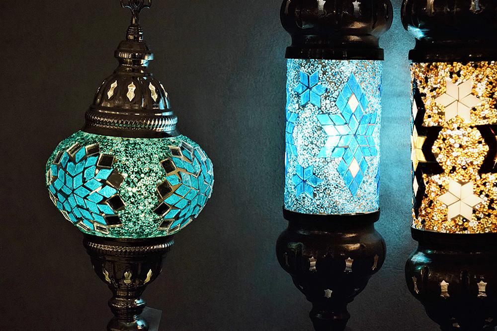 インテリアショップKAJAトルコの照明1
