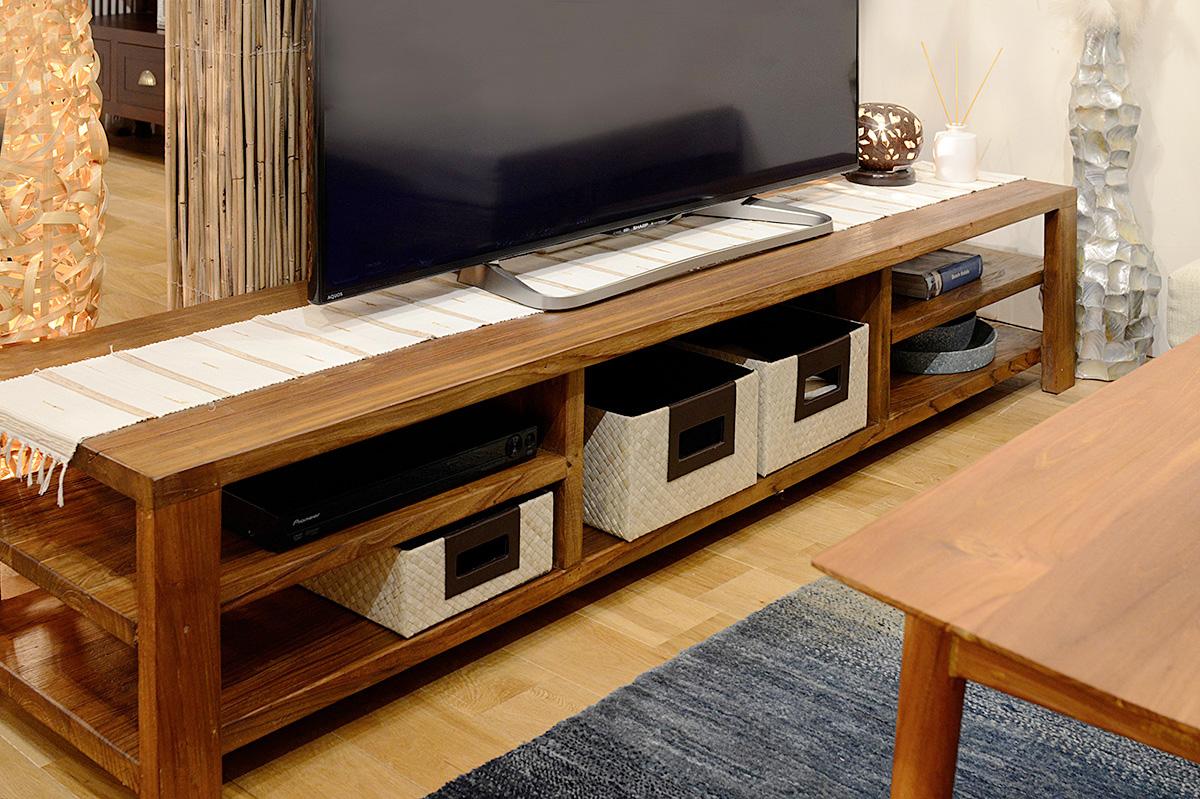 アジアン家具KAJAテレビボード収納1